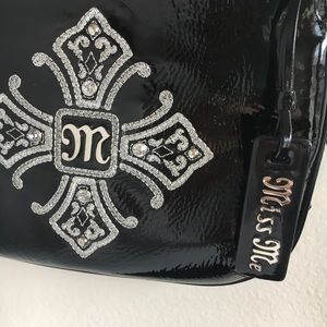 Miss Me Bags - Miss Me Black Faux Leather Crossbody d2945a506e9ed